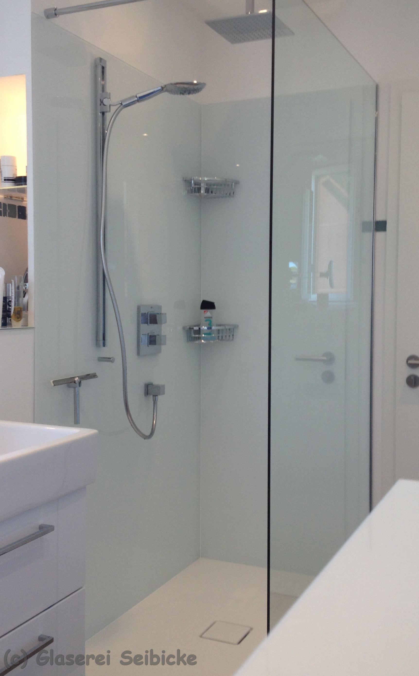 glaserei seibicke hamburg feststehend duschabtrennung und eine glasr ckwand in der dusche. Black Bedroom Furniture Sets. Home Design Ideas