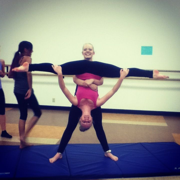 Yoga Challenge Friend Poses 2 Person Acro Stunts