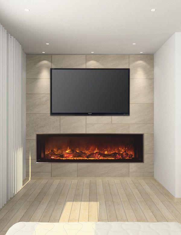 Modern Flames 60 Landscape 2 Built In Electric Fireplace Lfv2 6015 Sh Built In Electric Fireplace Modern Flames Modern Electric Fireplace