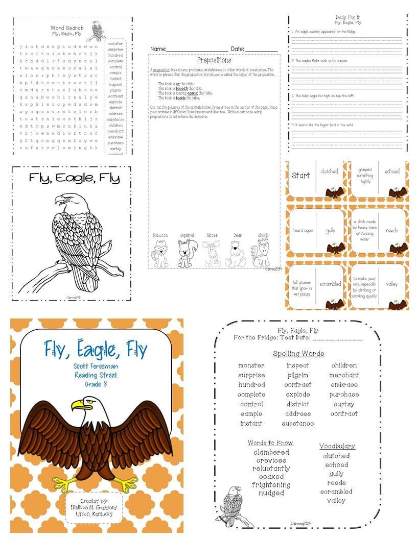 Fly Eagle Fly Reading Street Grade 3