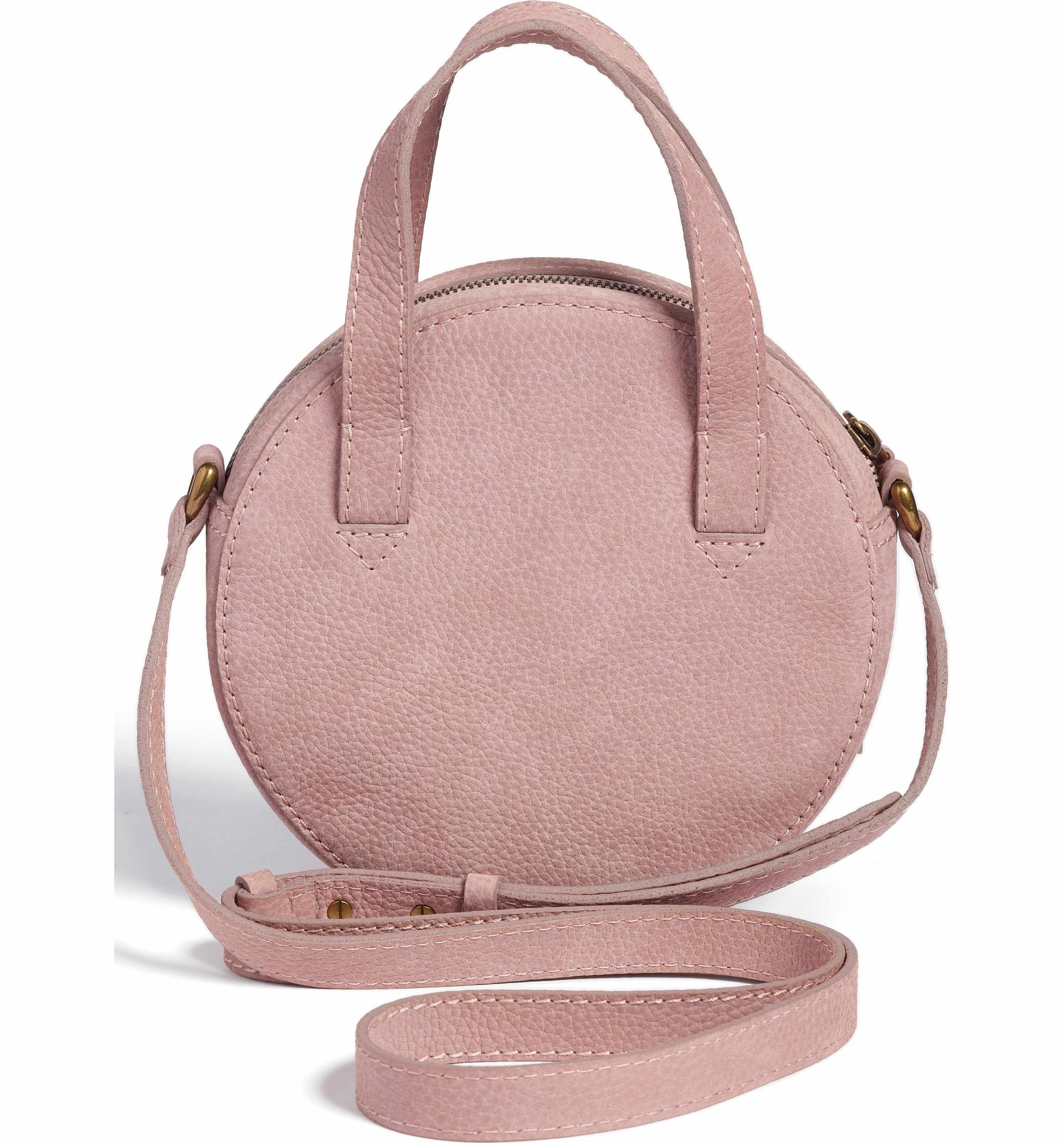 Main Image Madewell Juno Circle Leather Crossbody Bag