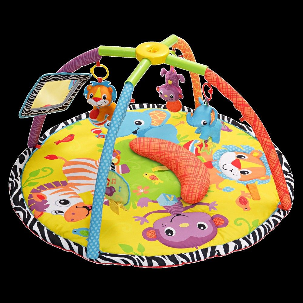 Infantino Twist and Fold Gym with Tummy Time - Baby Animal,
