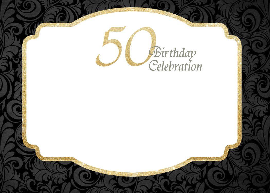 Free Printable 50th Birthday Invitations Template Birthday Party Invitation Templates Printable Birthday Invitations Birthday Invitation Templates
