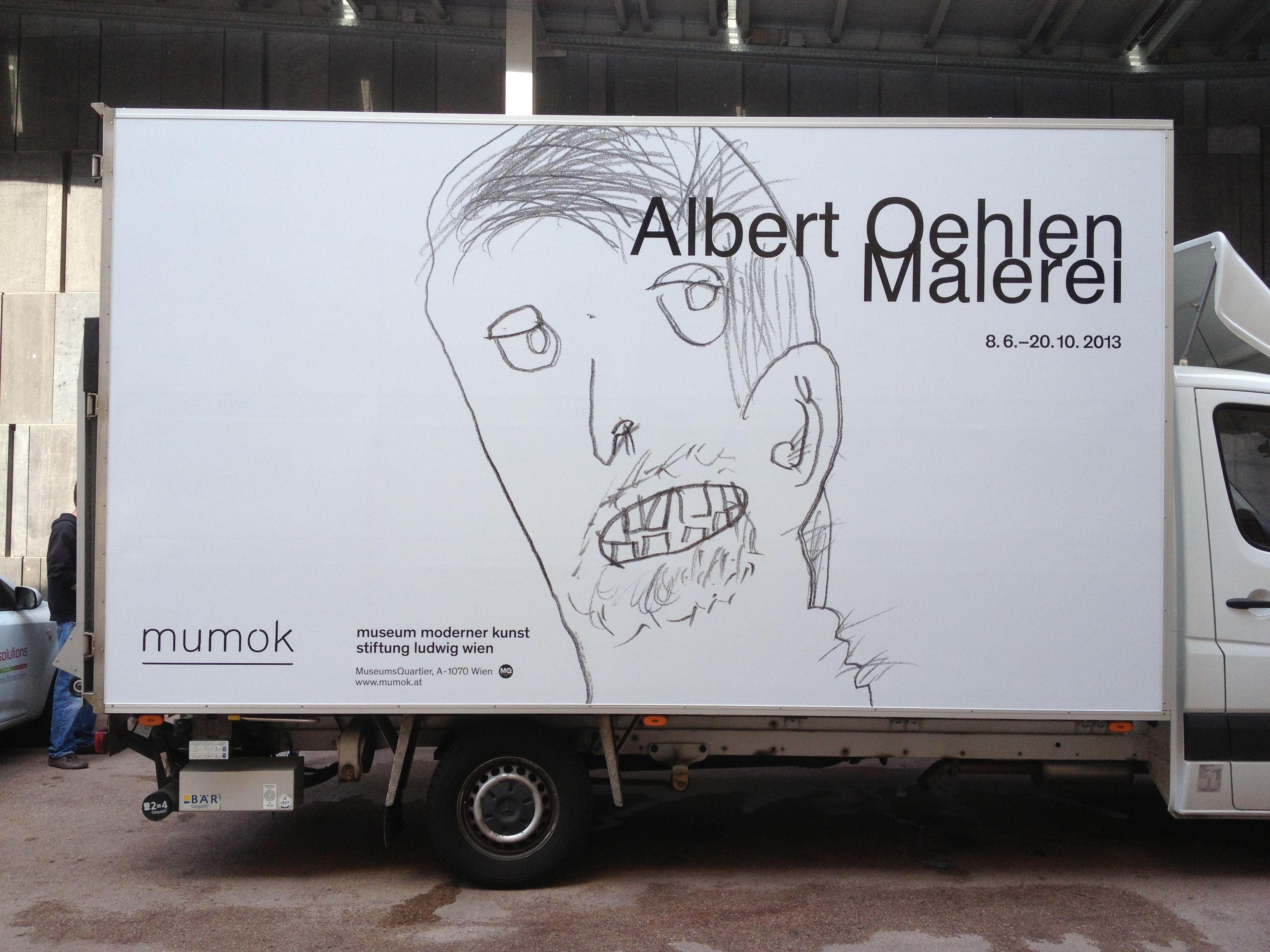 Autobeschriftung Museum Moderner Kunst Wien