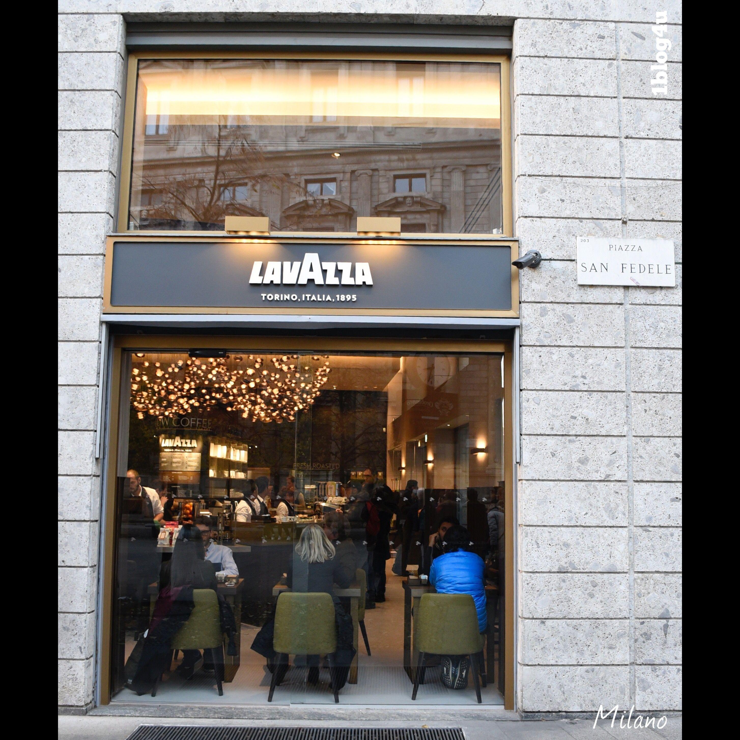 Lavazza Flagship Store In Milan Lavazza Milan Italia