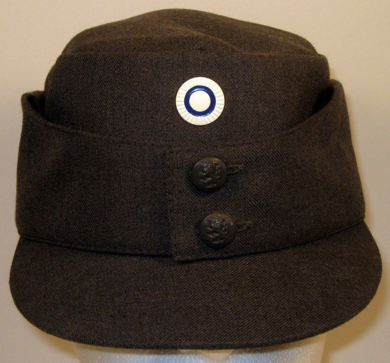 5504a520868 Finnish Finland Enlisted Army M 65 Field Utility Dress Hat Cap With Cockade  Pip  Unbranded