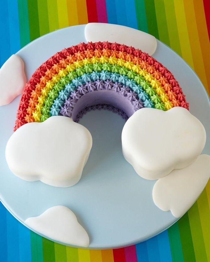Wir flippen aus: Regenbogen-Kuchen zum Nachbacken