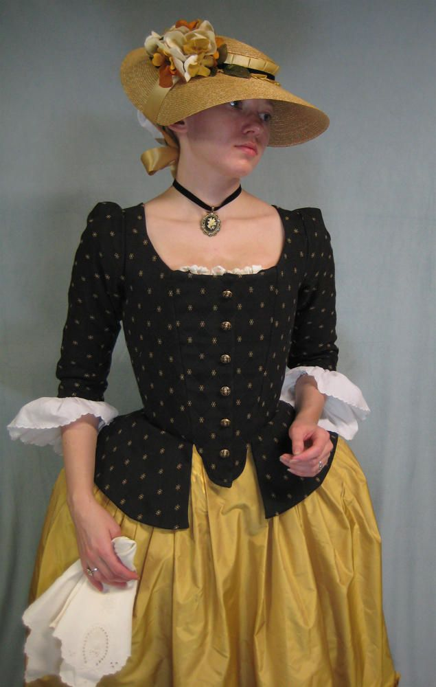 18th Century Jacket and Hat | 드레스