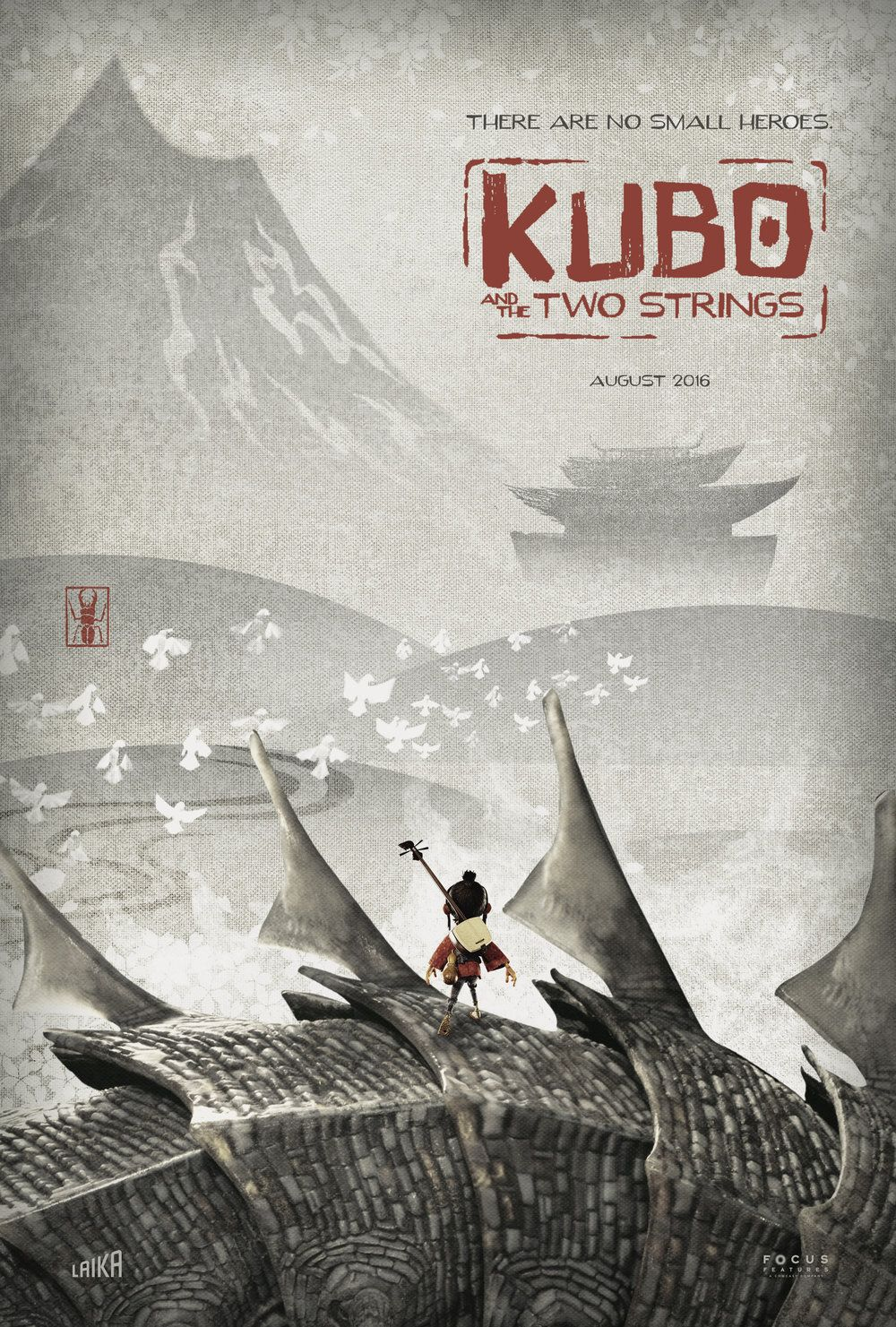 Kubo And The Two Strings 2016 Hd Wallpaper From Gallsource Com
