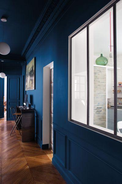 Peinture Tollens 80 nouvelles couleurs chez Castorama Interiors, Bohemian kitchen and Hall # Bombe Peinture Bois Castorama