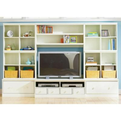 Part under the tv comes out further to allow for DVD player. Can you get a smaller DVD player?