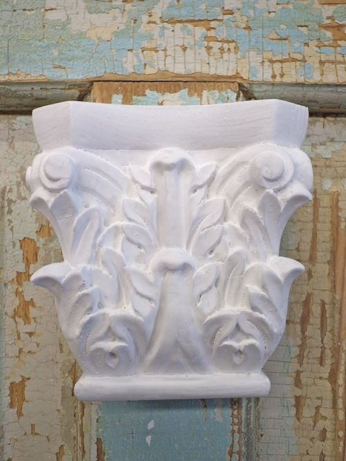 Shabby & chic architectural furniture appliques onlays