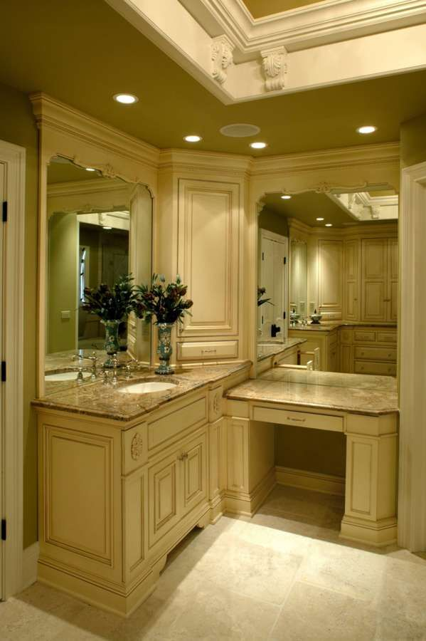 Bathroom Sets Luxury Reconditioned Bath Tub In Master Bedroom: Master Bathroom Suite - Battaglia