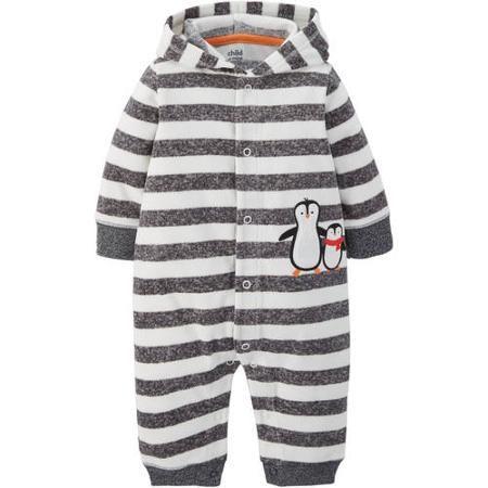 1c839fc5bcda Child of Mine by Carter s Newborn Baby Boy Hooded Fleece Jumpsuit ...