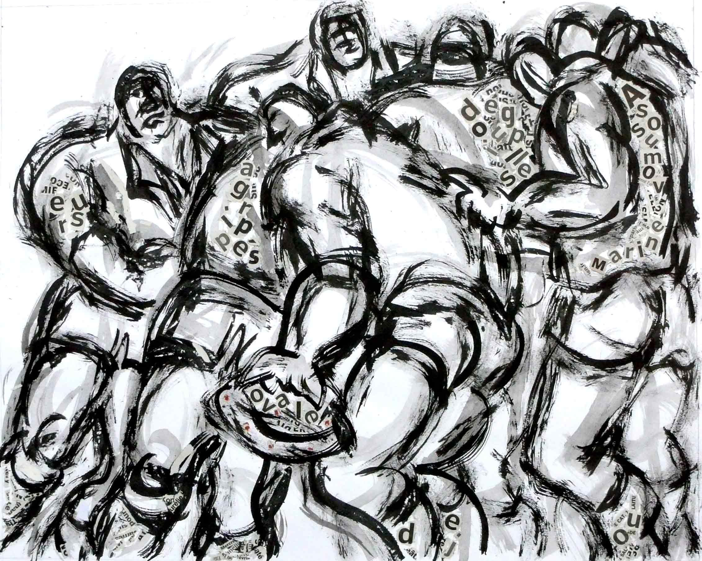16 best rugby art images on pinterest american football artists