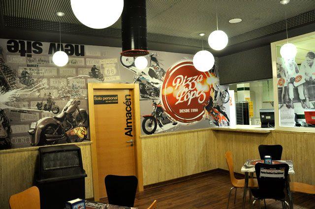 decoracion paredes restaurantes - Buscar con Google Decoracion de - decoracion de paredes