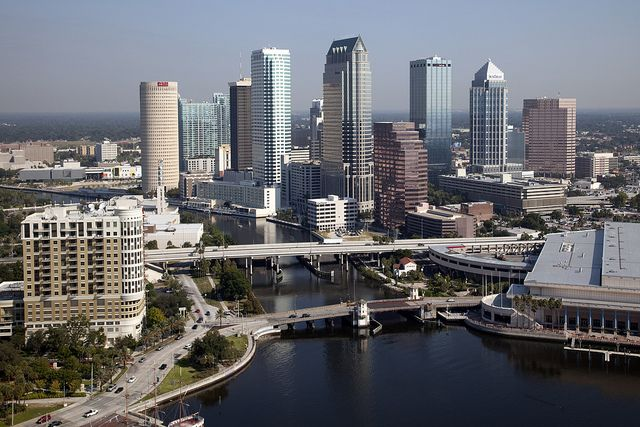 Image result for tampa florida downtown images