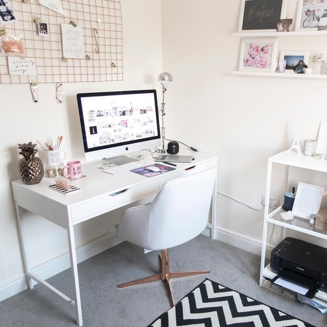 4 Stunning Home Offices That Are Serious #DecorGoals