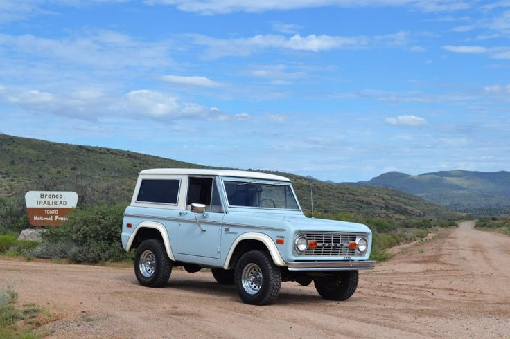 Wind Blue Bronco Classic Bronco Early Bronco Ford Bronco