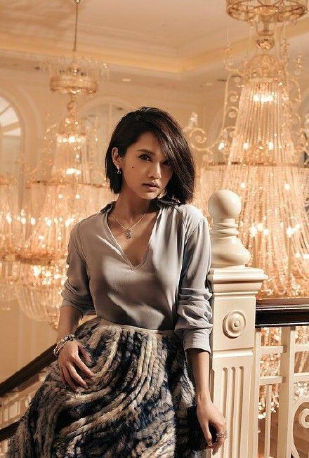 Rainie Yang Short Hair Styles Short Wedding Hair Hair Styles 2016
