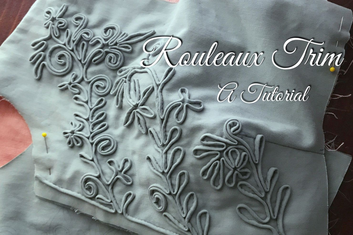 How To Make Rouleaux Trim With Images
