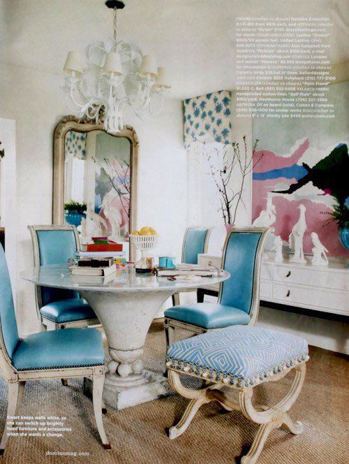 Bright Bold & Old Antique Dining Chairs with a Twist