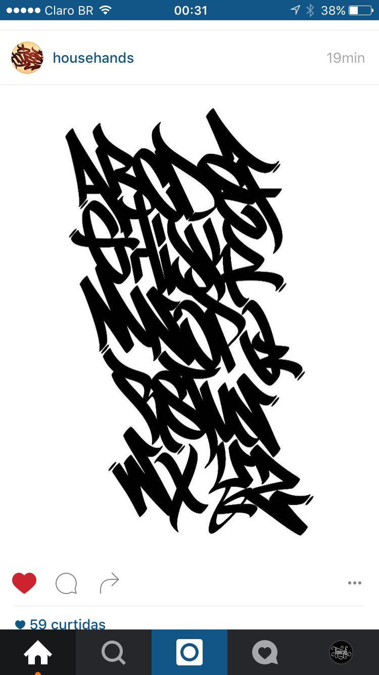 Pin By Kazuya Hoshino On Streetype Graffiti Lettering Graffiti Lettering Fonts Graffiti Alphabet