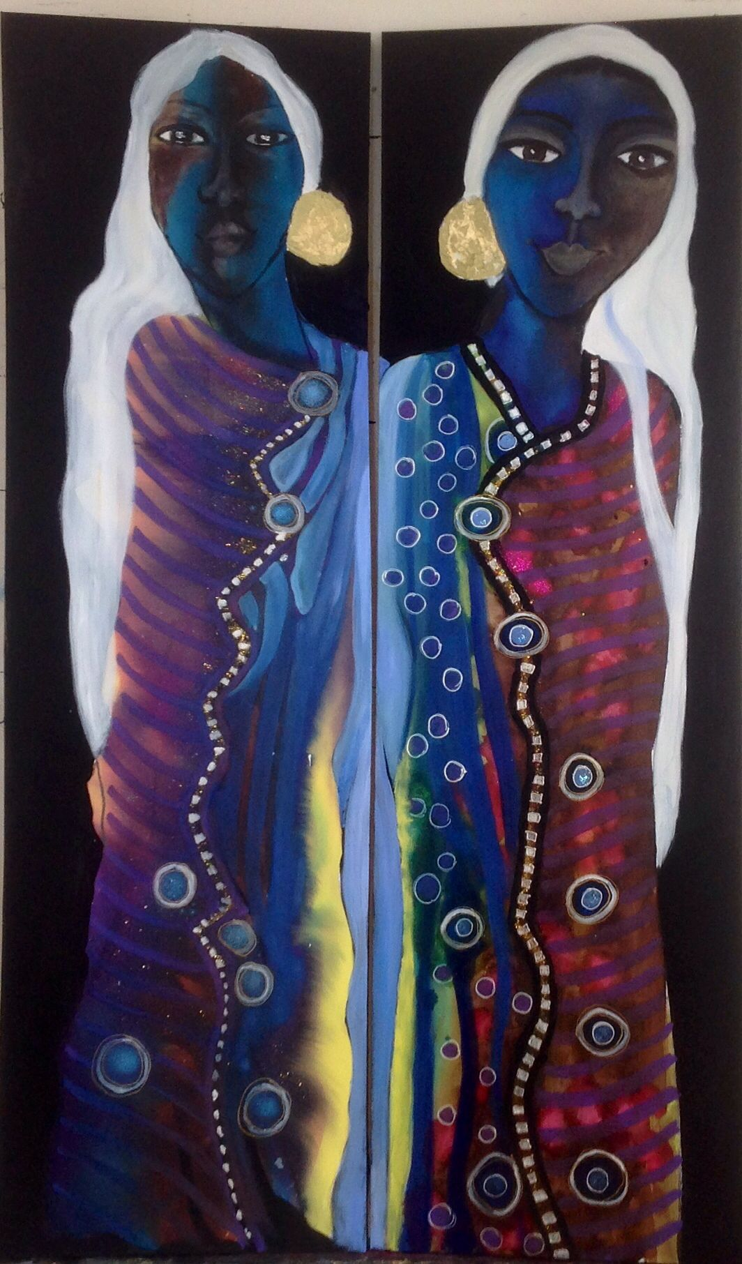 Women of my Ẅorld By Britt Boutros Ghali #twinsoul