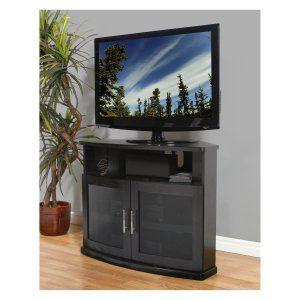 Corner TV Stands on Hayneedle Corner Media Cabinets