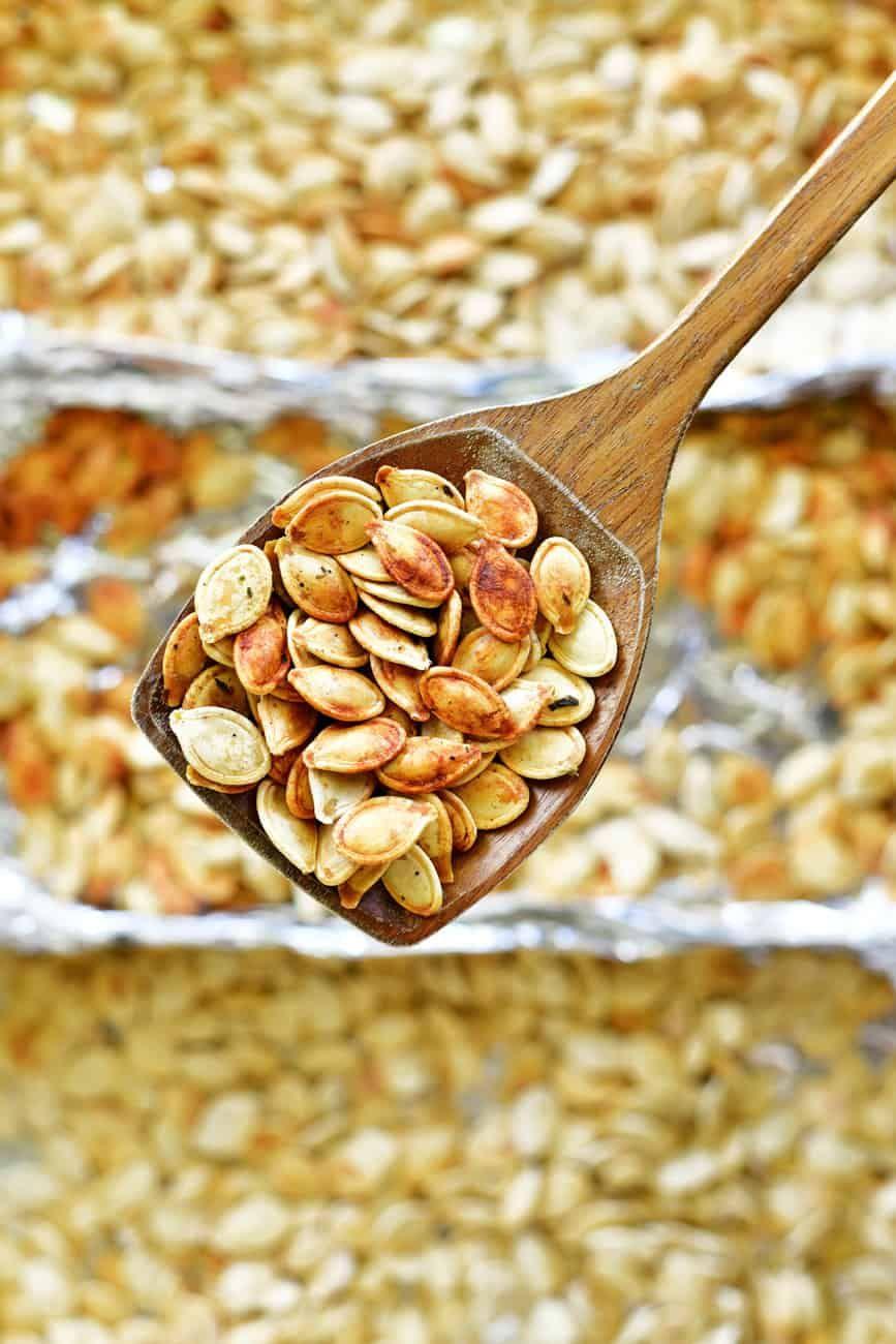 Roasting Pumpkin Seeds - The Gunny Sack