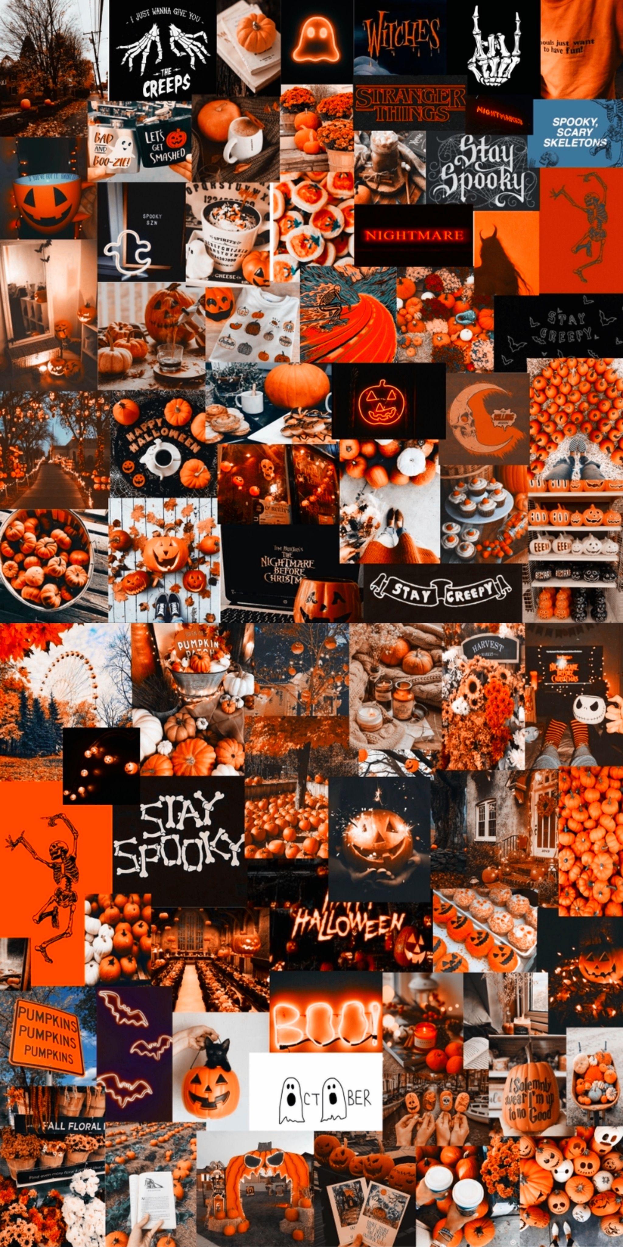 October Halloween Screensaver Cute Fall Wallpaper Fall Wallpaper Halloween Wallpaper Iphone