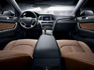 2017 Hyundai Sonata Interior