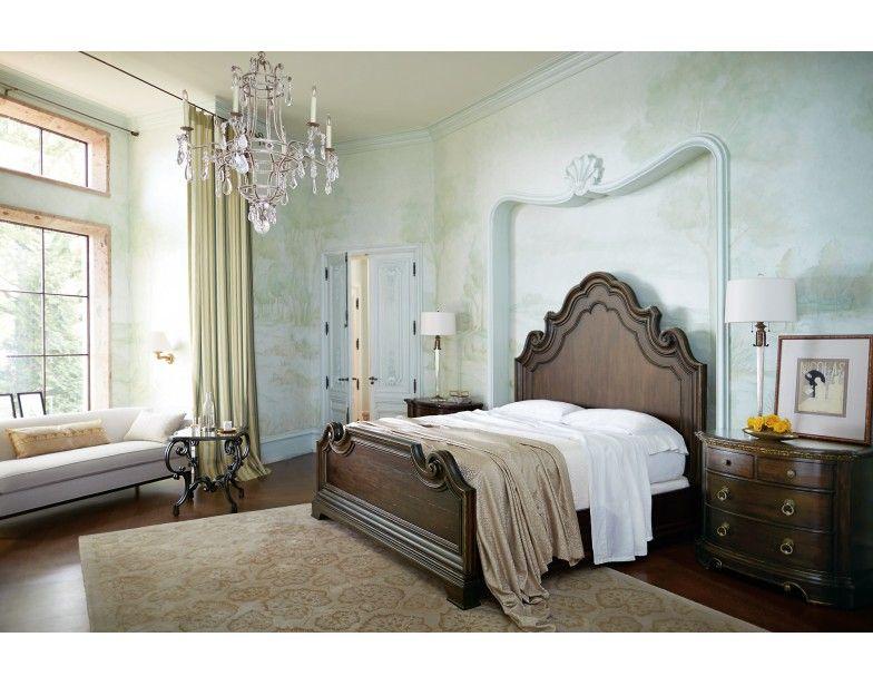 Villa Medici King 4-PC bedroom group | Bernhardt | Star ...