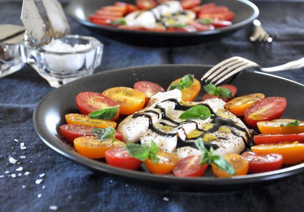 Rohe, vegane Mozzarella / Raw vegan Mozzarella