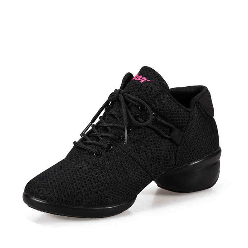 (Buy here: http://appdeal.ru/1xt4 ) Shoes Dancing sneakers Shoes Women modern mesh dance shoes soft bottom teacher Square dance shoes zapatos mujer modern for just US $69.80