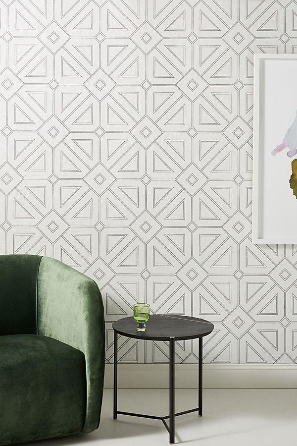 Voltaire Geometric Textured Wallpaper Textured Wallpaper White And Gold Wallpaper Home Wallpaper