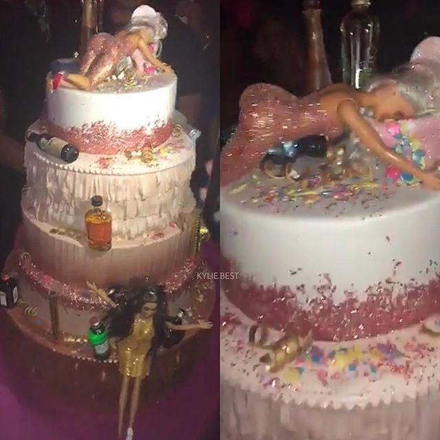 Cake Kylie 21 En 2019 Pedas Fiesta Cumplea 241 Os Y Fiesta