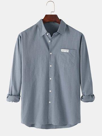 قمصان رجالي بأكمام طويلة In 2020 Shirts Mens Tops Chef Jackets