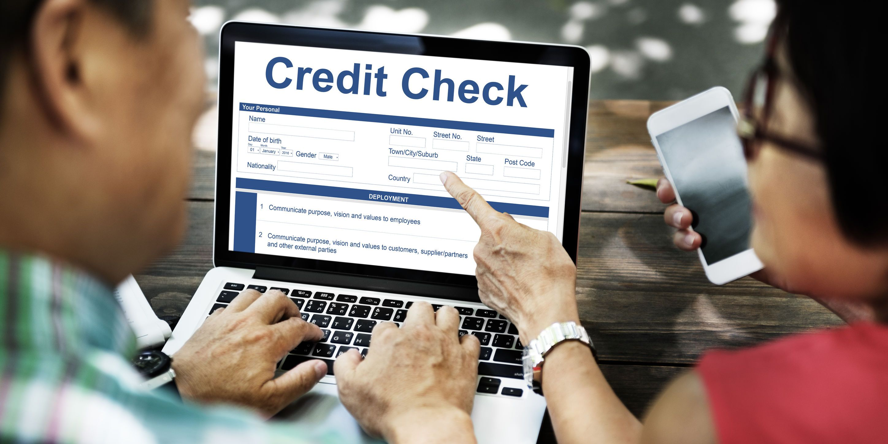 Credit scores are very important because they are a