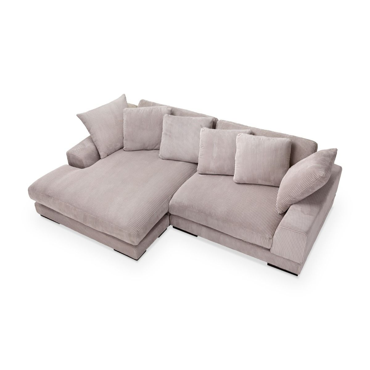 Plunge Canape Sectionnel En Velours Cotele Must Societe In 2020 Sectional Sofa Sectional Sofa