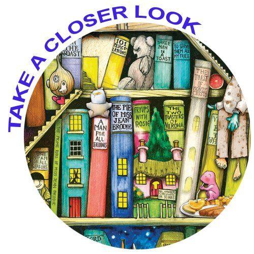 Ravensburger Colin Thompson The Bizarre Bookshop 2 1000 Piece Puzzle Amazon Co Uk Toys Games Greyscale Coloring Books Coloring Books Jigsaw Puzzles