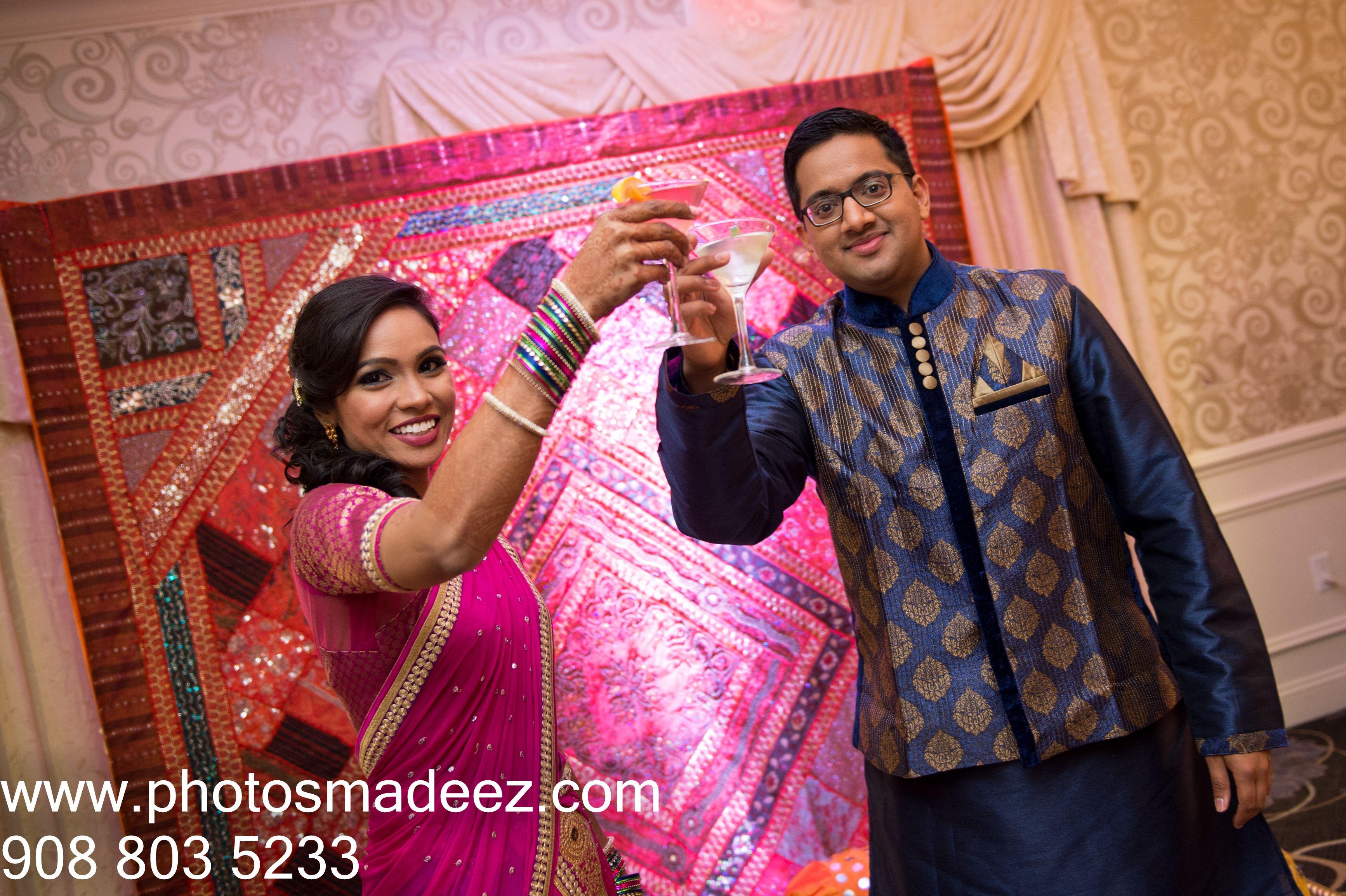 Bride and Groom at Garba for Indian Wedding at Springfi…   Garba ...