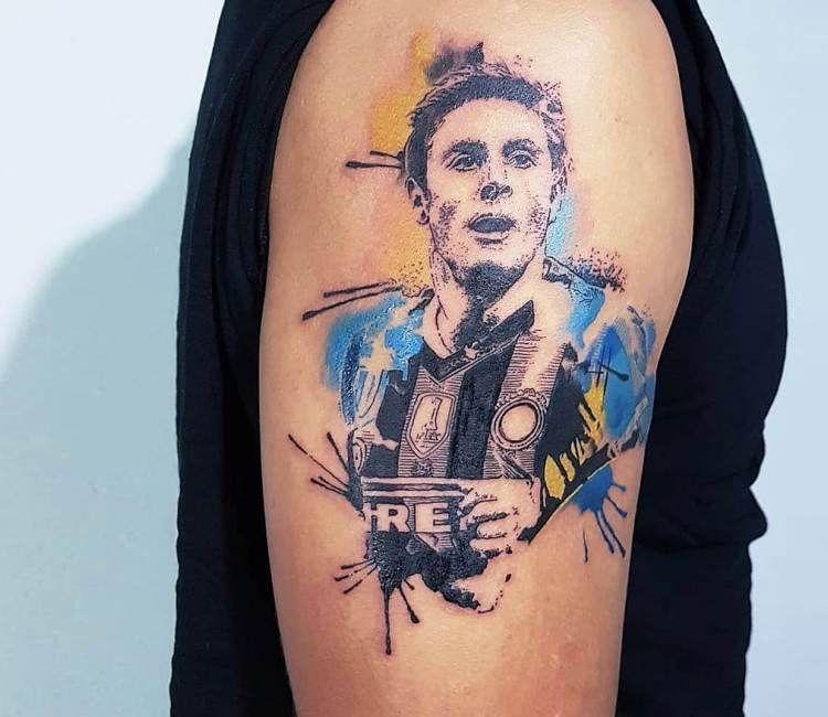 Javier Zanetti Tattoo By Ilaria Art