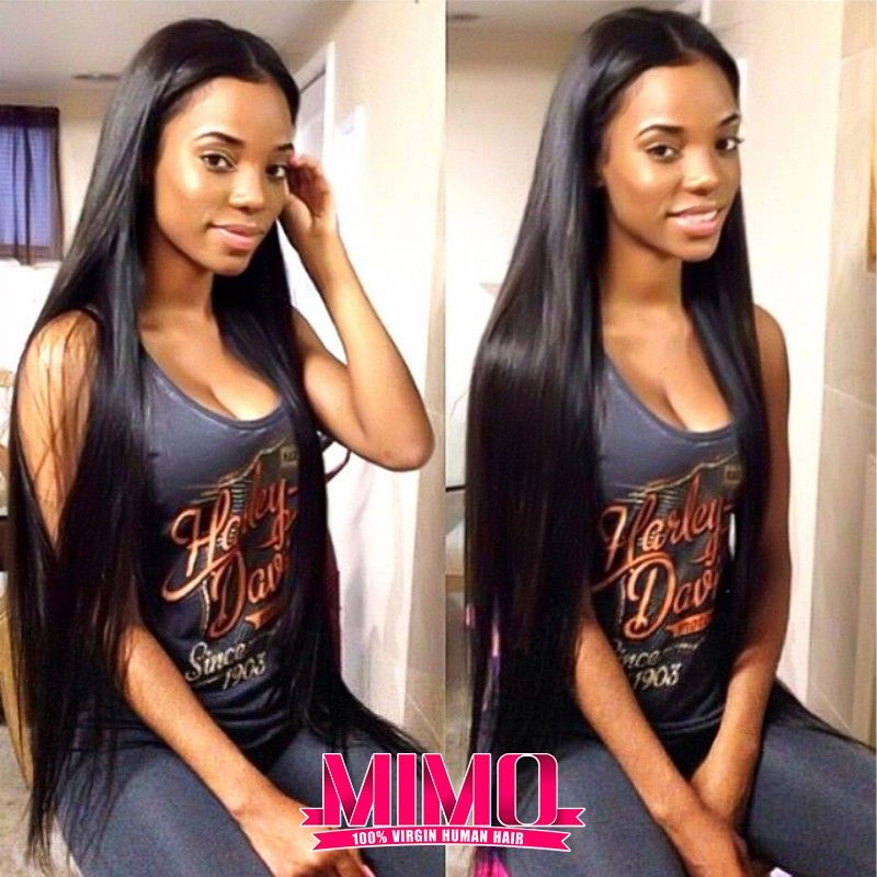 7A Brazilian Virgin Hair 4 Bundles Straight Human Hair Virgin Brazilian Straight Hair Unprocessed Brazilian Virgin Hair Straight * This is an AliExpress affiliate pin.  Find out more on AliExpress website by clicking the image