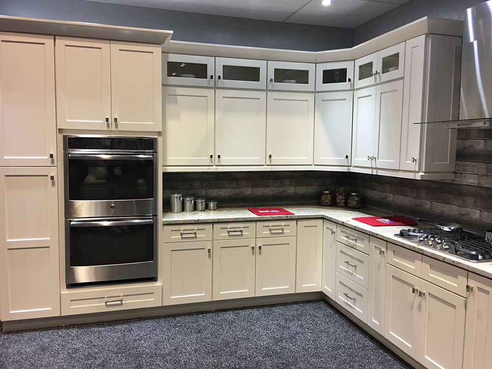 Kitchen Cabinet Kings   Shaker Antique White RTA (Ready to ...
