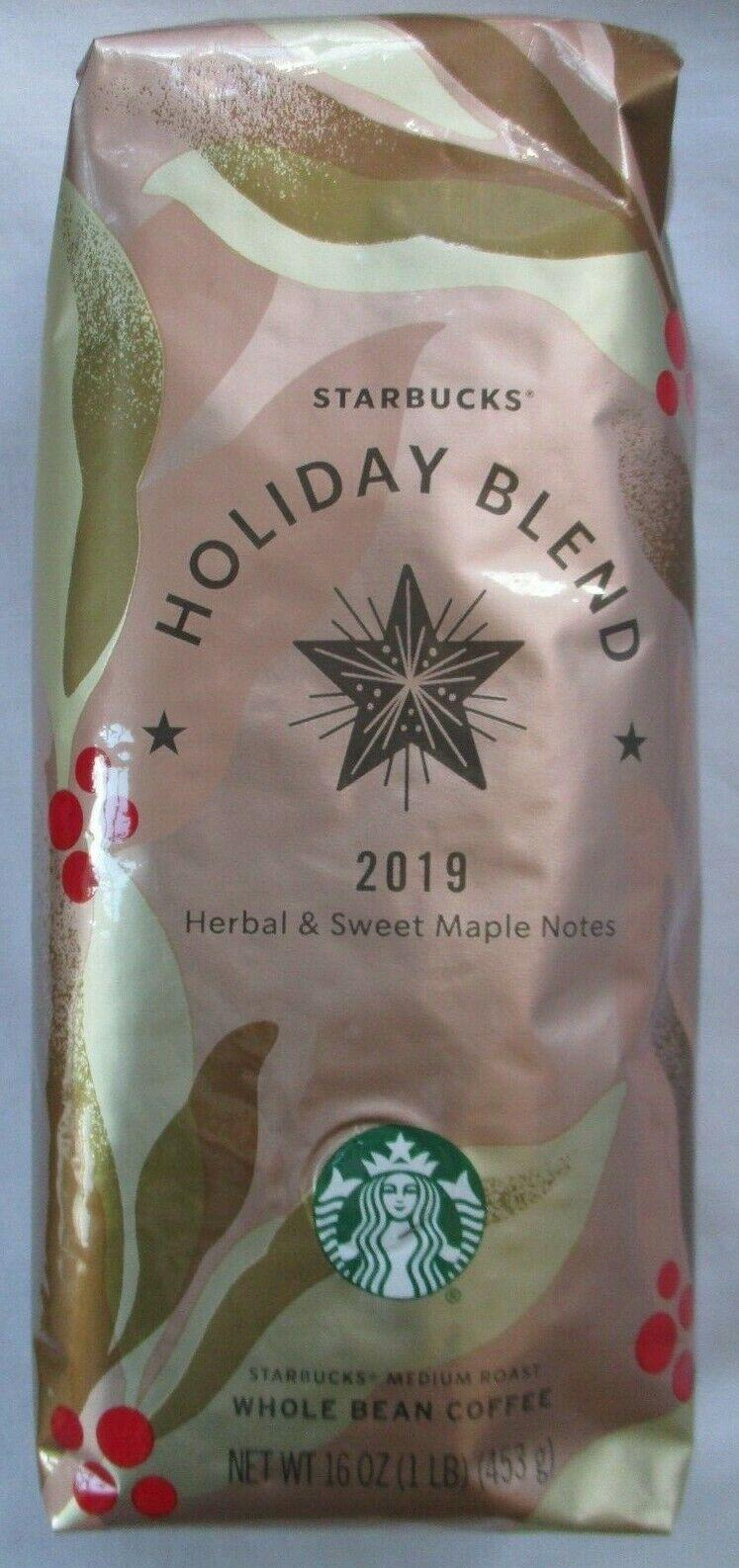 Starbucks Christmas Holiday Blend 2019 Whole Bean Coffee 1 Lb Bag Ideas Of Starbucks Coffee Starbuckscoffe In 2020 Starbucks Christmas Holiday Blend Holiday Coffee
