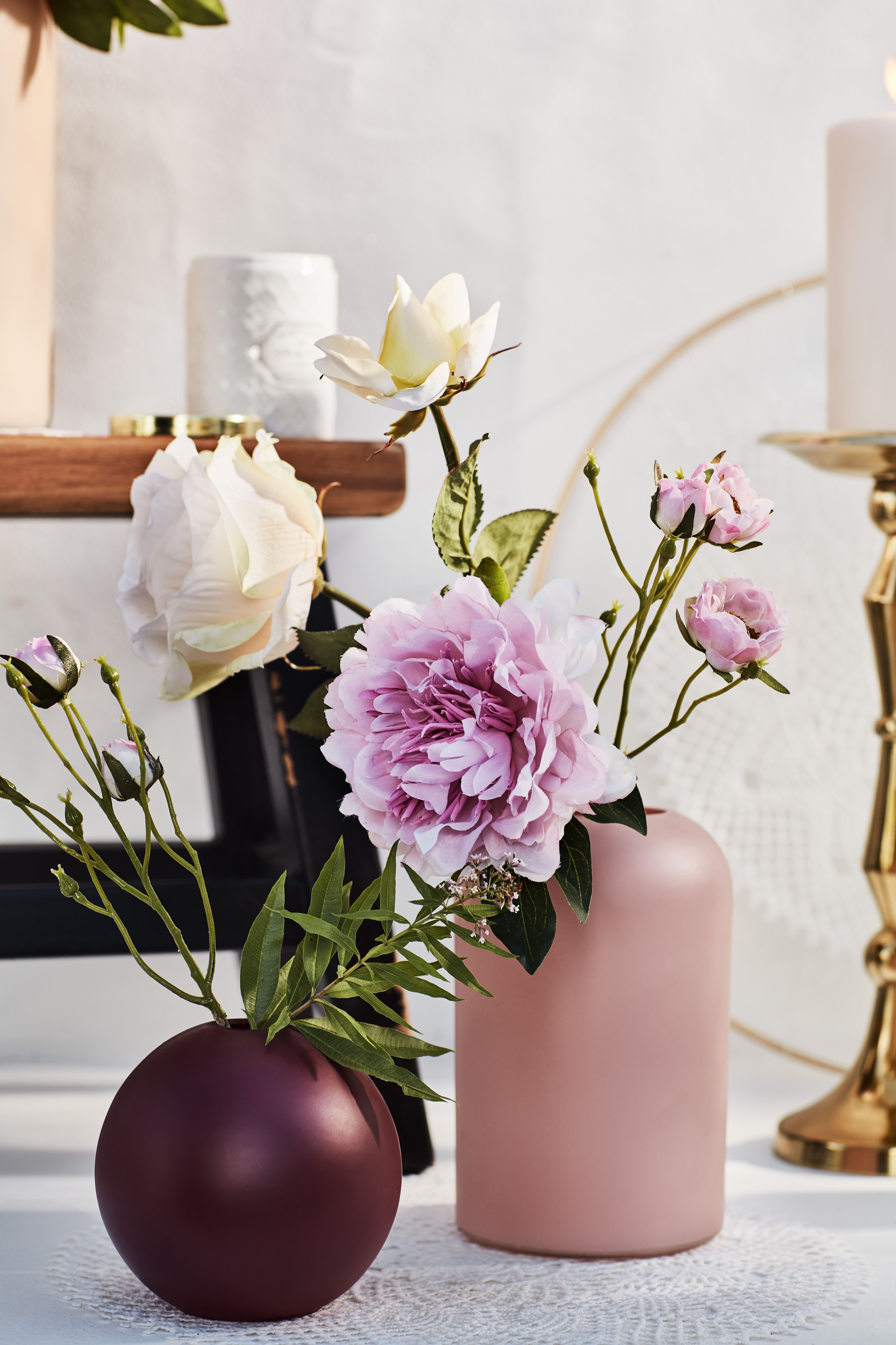 Photo of Rosedrøm i glassvaser 🌹
