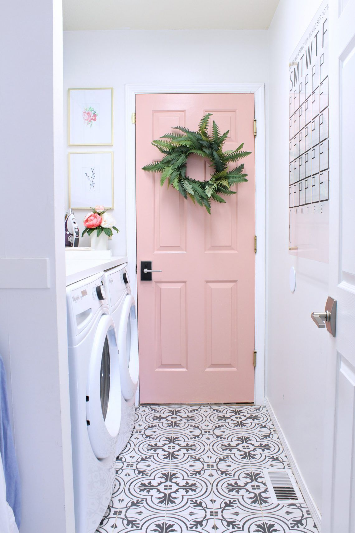 Prescott View Home Reno Laundry Room Makeover Classy Clutter