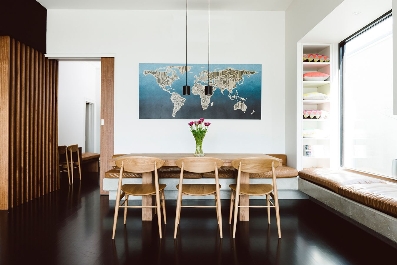 Yarraville House  Techne Window Seat  Dining Table  Houses Gorgeous Window Seat In Dining Room 2018