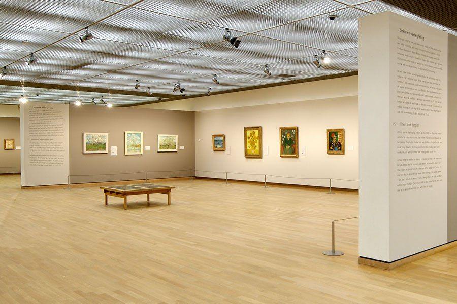 Interieur van gogh museum vincent van gogh pinterest for Interieur architect
